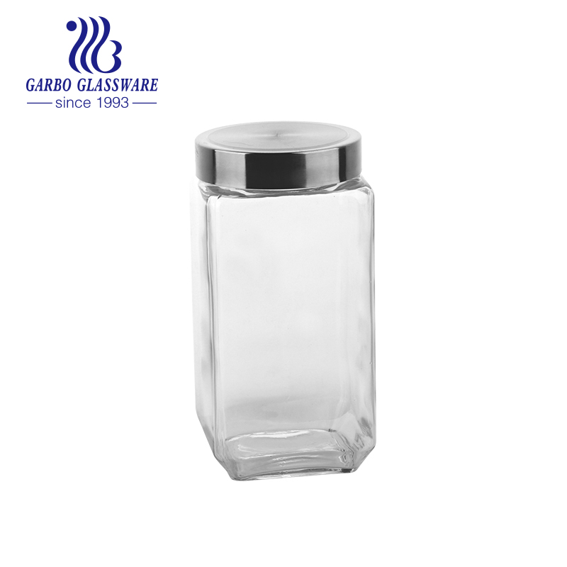 450ml China factory produce wholesale price glass storage jars biodegradable glass food jars