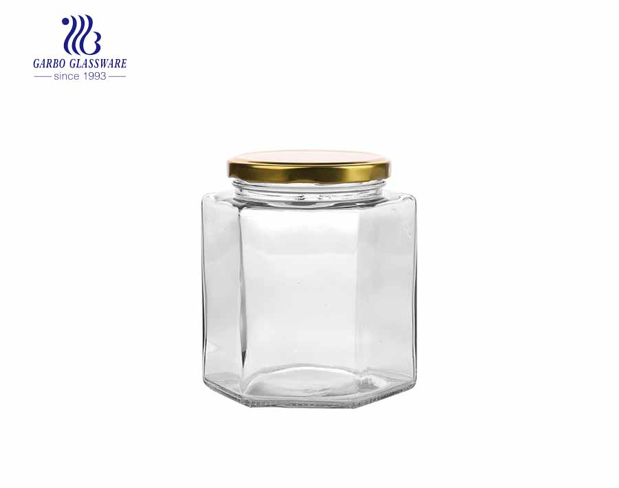 750ml  top seller professional glass storage jar Eco-friendly feature glass food jar