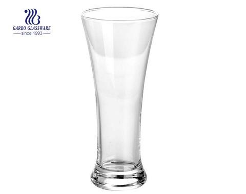 Günstiger Preis Maschine gemacht Pilsner Bierglas mit benutzerdefinierten Logo