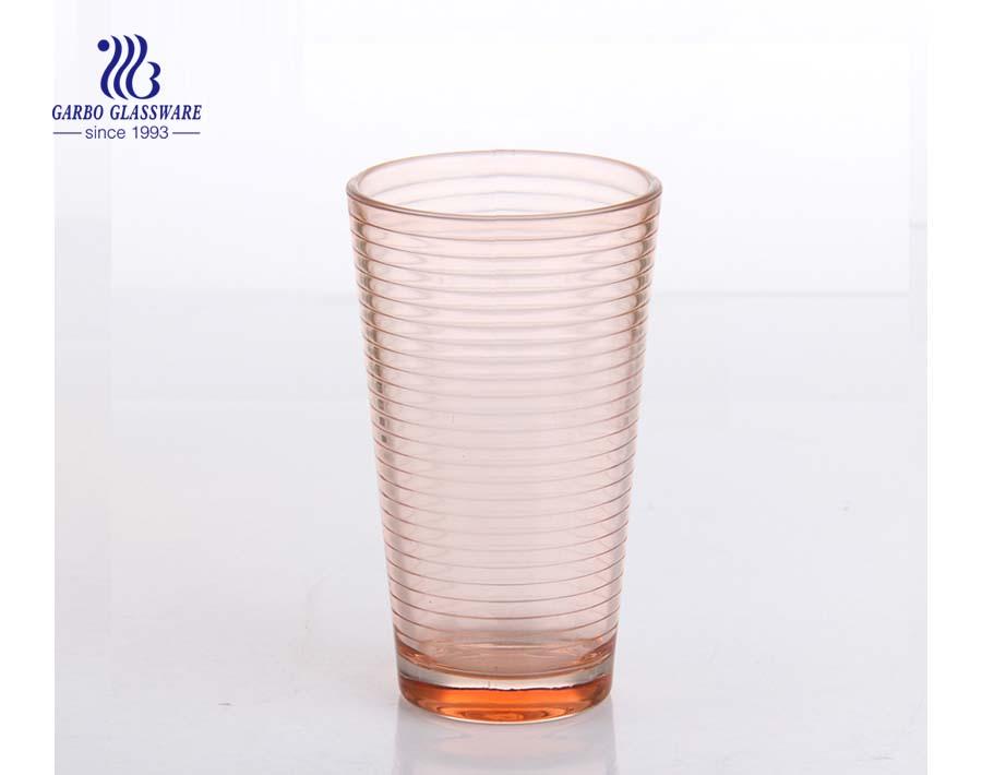Kundenspezifische mehrfarbige Glasschale Größe 16oz