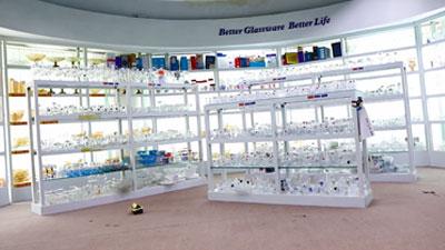 Sala de exposición de vidrio Garbo