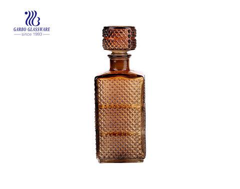 Vintage Glas Dekanter Old Fashion Whisky Dekanter Bulk mit Stopper