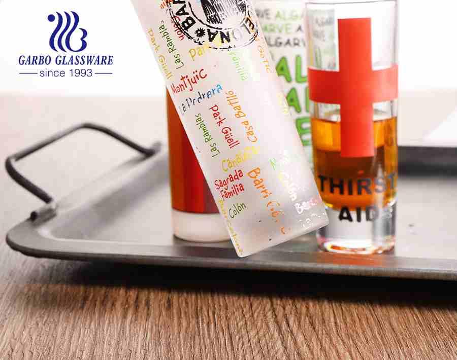 2 أوقية الصين مصنع مخصص نظارات الديكور نظارات الخمور لحزب حانة بار