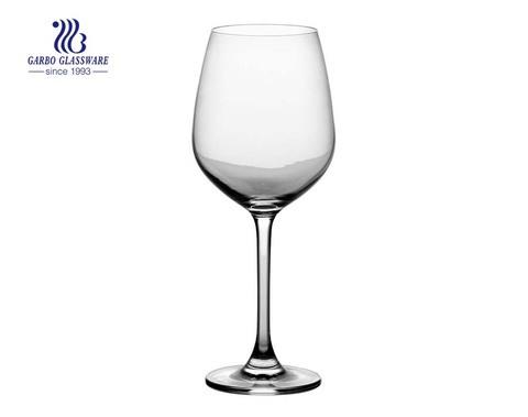 14.08oz Persönlichkeitsstil Bestseller Stielglas für die Hochzeit Personalisierte benutzerdefinierte Logo Glas Becher