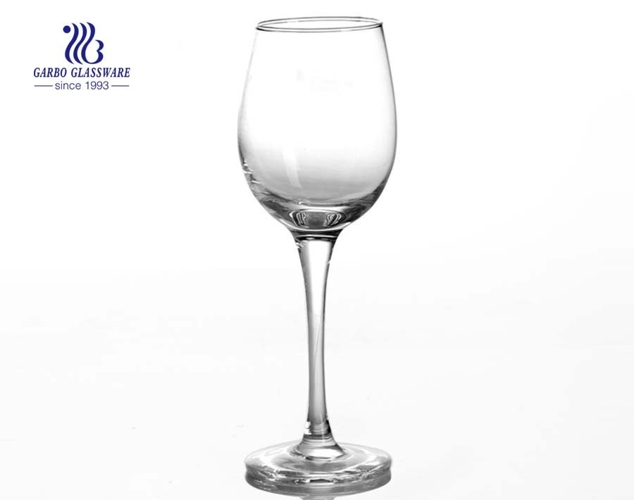 14.08oz personality style best selling stemware glass for wedding Personalized custom logo glass goblet