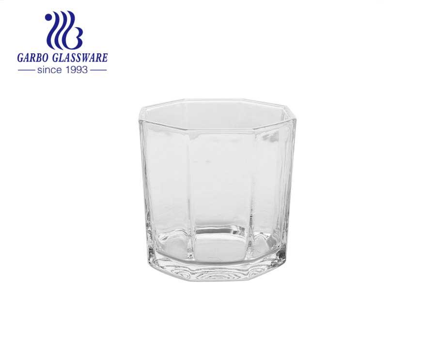 5 estrelas dão forma a castiçais da luz do chá do vidro de cristal para a festa de casamento