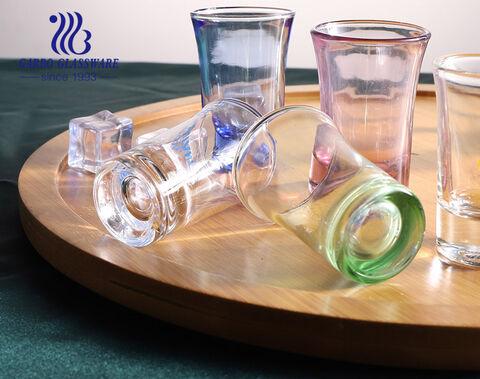 50ml custom shot glasses personalized logo design tequila shot glass