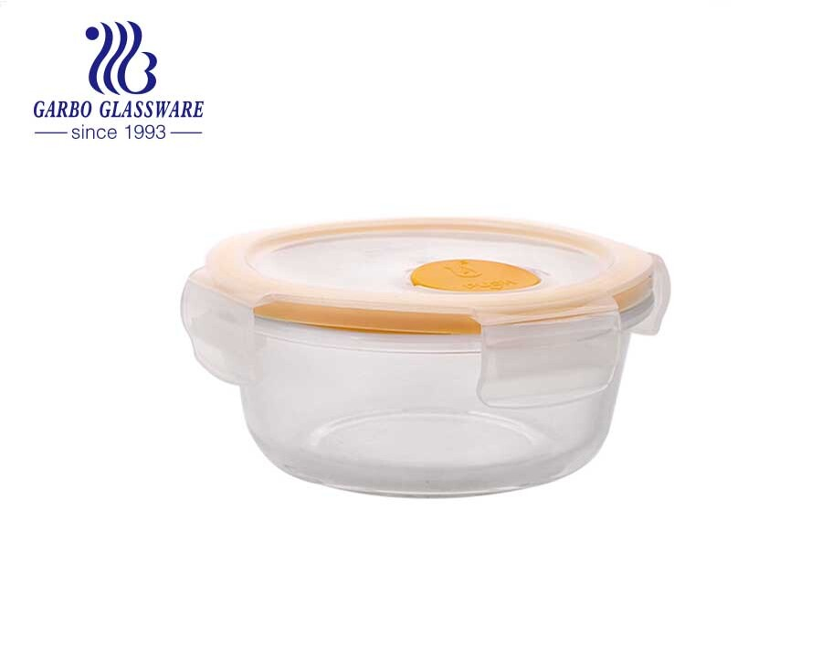 Easy To Carry Food Storage Glass Container Gift  In Stock