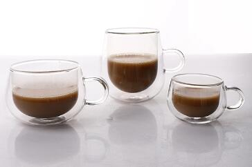 What is the top 5 best glass coffee mugs from Garbo glassware?
