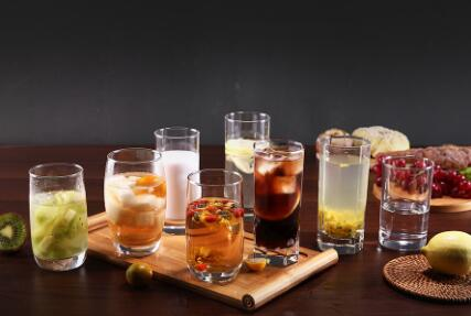 How do we make a homemade drinks with Garbo glassware products?