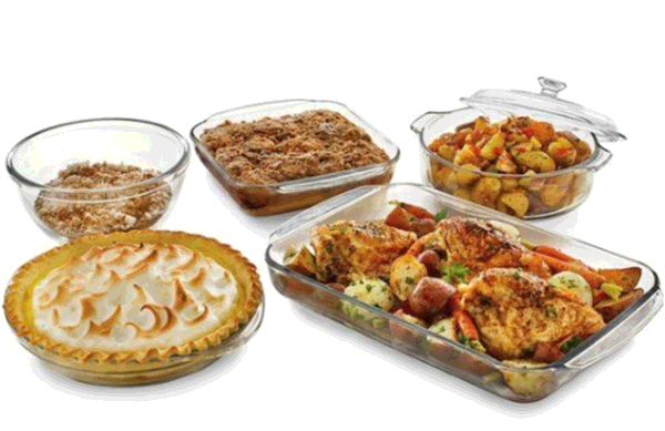 A perfect kitchen helper for your home-the multi-functional glass casserole