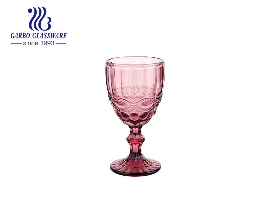 300ml heißer Verkauf runder Weintrinkglasbecher für Party und Hochzeit mit