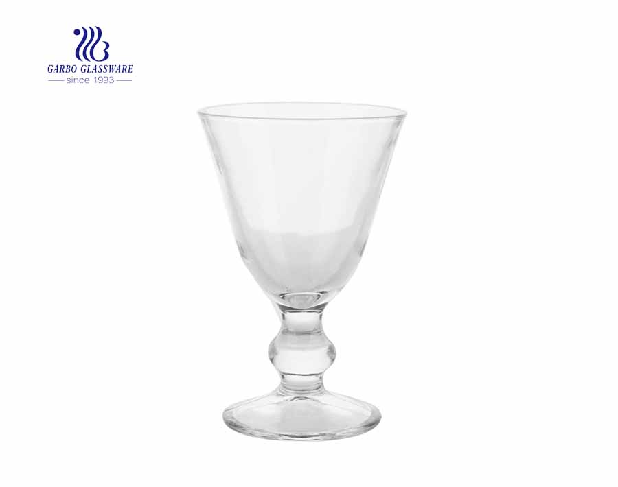 Clear Transparent ice cream cup 3.5 ounce lead free glass bowl with wholesale price