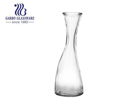 14oz Slim Waist Design Glasflasche Wassertrinkkrug für Saftmilch
