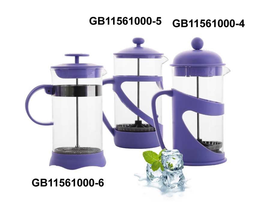 Borosilicate Free Sample French Press Pot Food Grade Glass Coffee Maker Coffee Plunger
