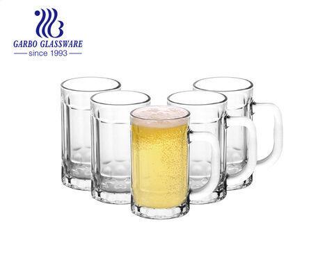 Copos grandes de cerveja pesada com alça Caneca de cerveja tradicional Café Chá Copo Bebendo