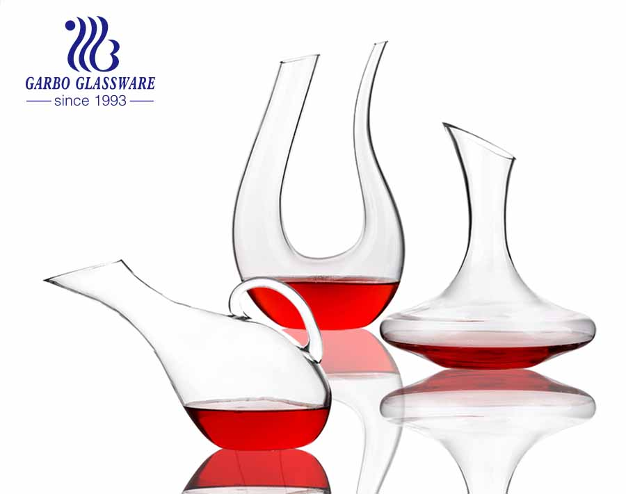 Glass Red Wine Carafe Premium Wine Gift Decanter Crystal Wine Decanter