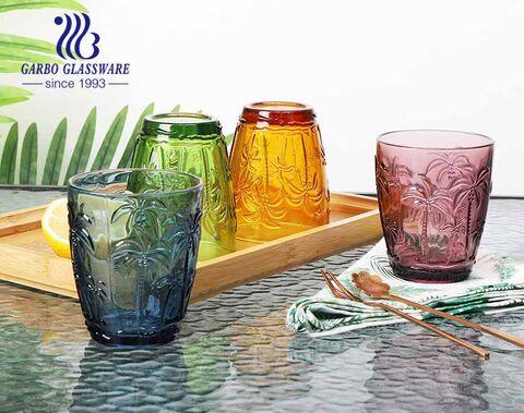 Vasos calientes del vaso de agua y del jugo de la venta de la forma del huevo 10oz con color sólido