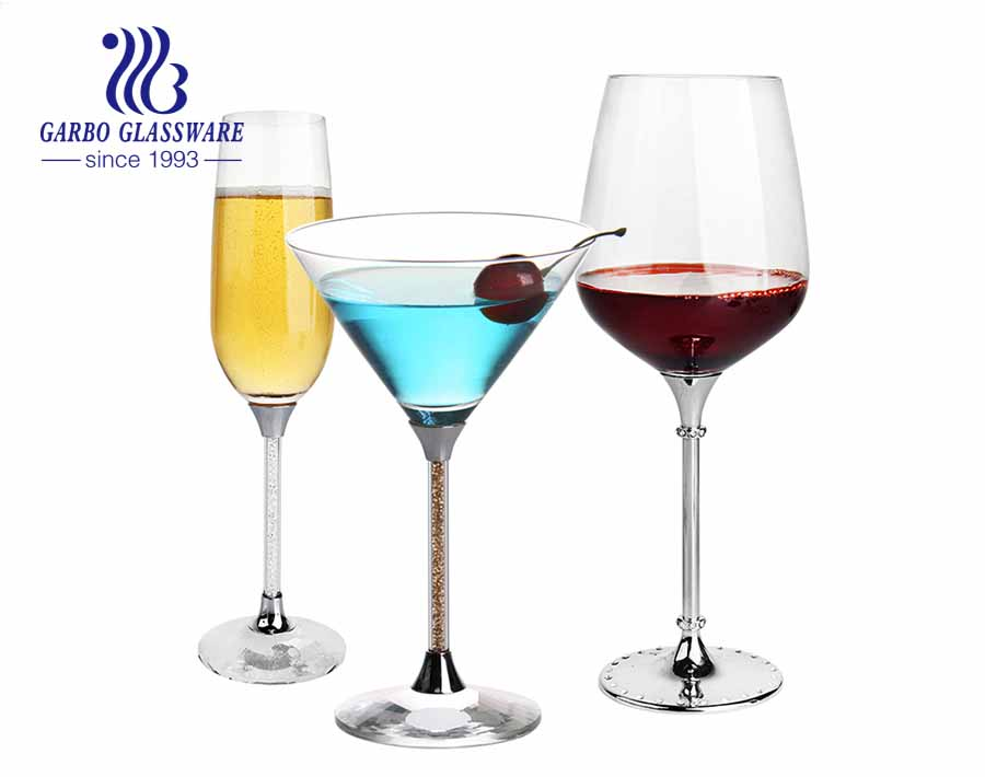 Superior quality with white transparency cocktail glassware  wine jucie long drink glass cup with  newest style