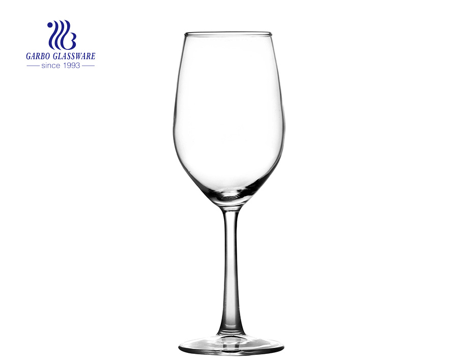 clear cheap factory wholesale price glass stemware clear useful wine glass