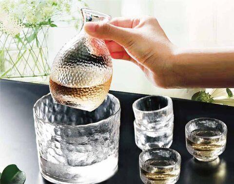 Phong cách Nhật Bản búa mô hình rượu sake thủy tinh rượu bộ ấm chén rượu ấm cho quán bar khách sạn nhà
