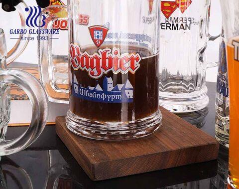 258ml benutzerdefinierte Biergläser 9oz personalisierte Bierkrüge mit Drucklogos