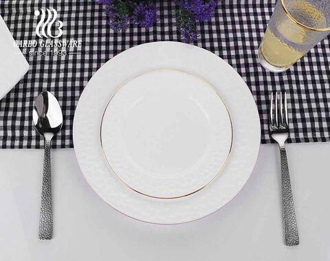 1.9 l weißes Opalglas Big Bowls für Getreidesuppe Reis Nudelsalat Haferflocken