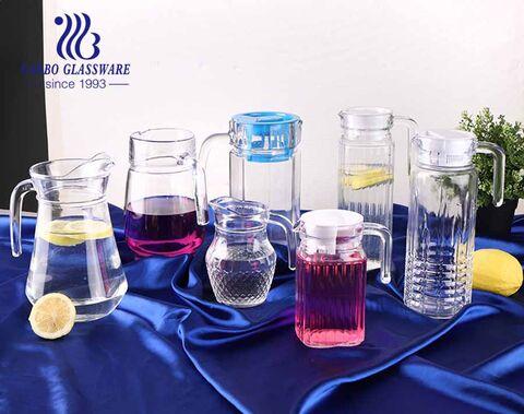 China Wholesale Tea jug/ Tea Pot/Water Kettle Glass Beverage Jug