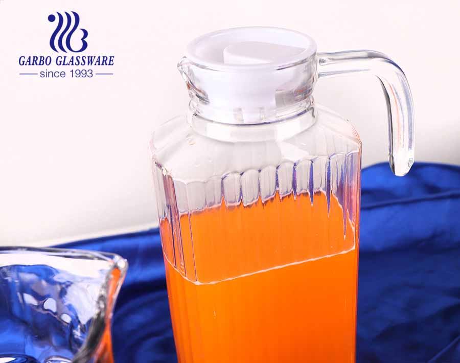 Jarro de chá / bule de chá / chaleira de água por atacado da China Jarro de bebida de vidro