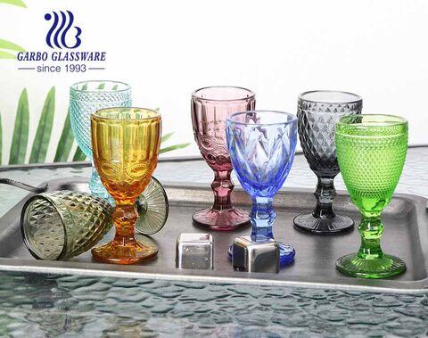 Taças de vidro shot de alta qualidade de 50 ml para vodka bebendo presente de natal para bar usando