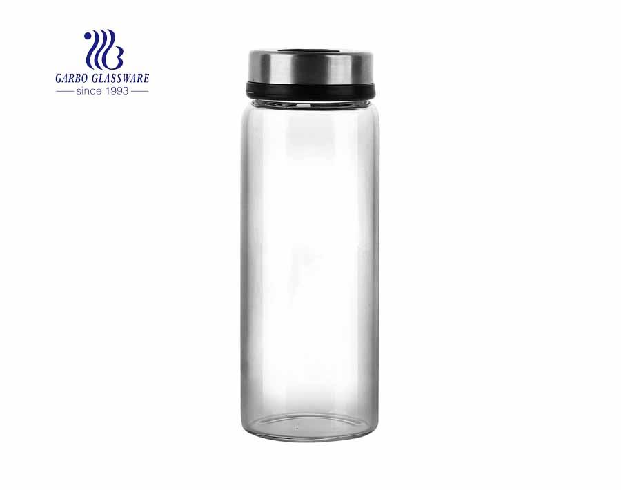 Dispensador de aceite y vinagre de vidrio de 500 ml Botella de vidrio de vinagrera de aderezo de ensalada de 18 oz