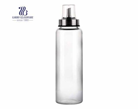 500ml Glass oil and vinegar dispenser 18 oz salad dressing cruet glass bottle
