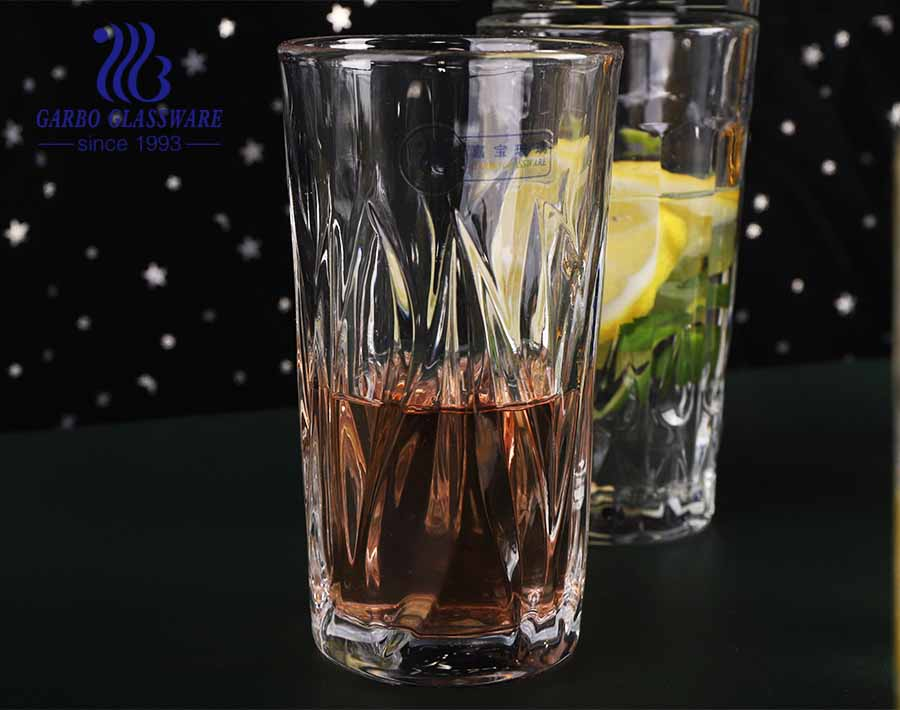 9oz massive production engraved glass cups with 2021 full new designs