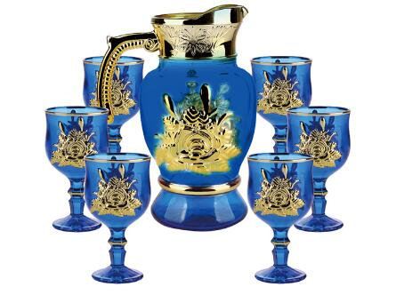 What Are The Hot Sale Ion Plating Color Water Jugs Set? What Design,Size and MOQ?