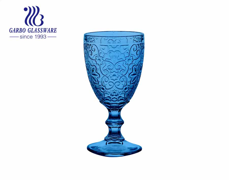 300ml new design wine drinking glass goblets for bar and restaurant using