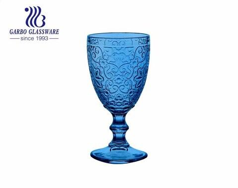 Copas de copa de vino de nuevo diseño de 300 ml para uso en bares y restaurantes