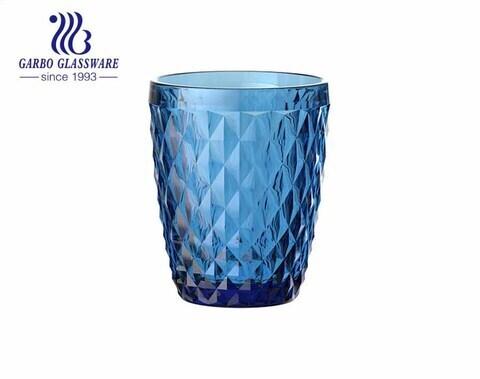 Color redondo del aerosol de los vasos del vaso de beber del jugo del agua 8oz para el hotel del restaurante