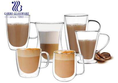 Garbo Weekly Promotions: Hot selling double wall glass cups