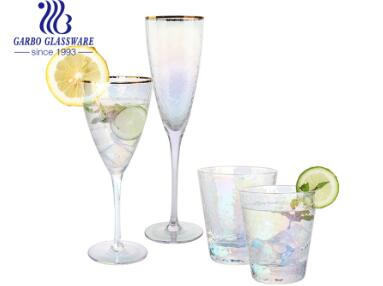 Do you know the production process for hand-blowing glassware products