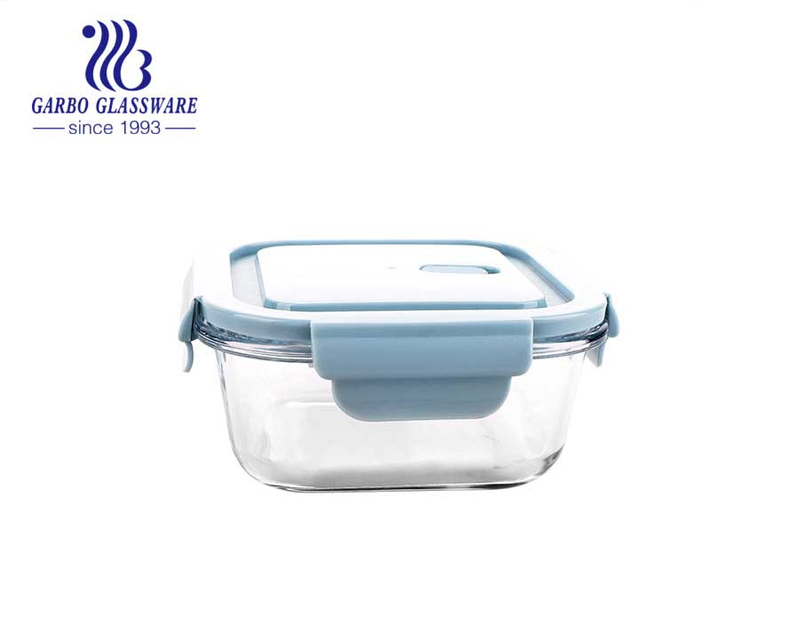 Hot sales Microwave Oven Safe glass food container leakproof  lunch box meal prep storage food container