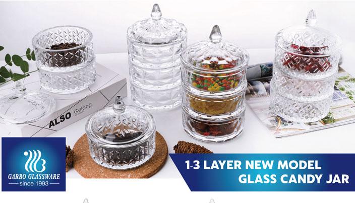 Garbo New Design Glas Candy Gläser
