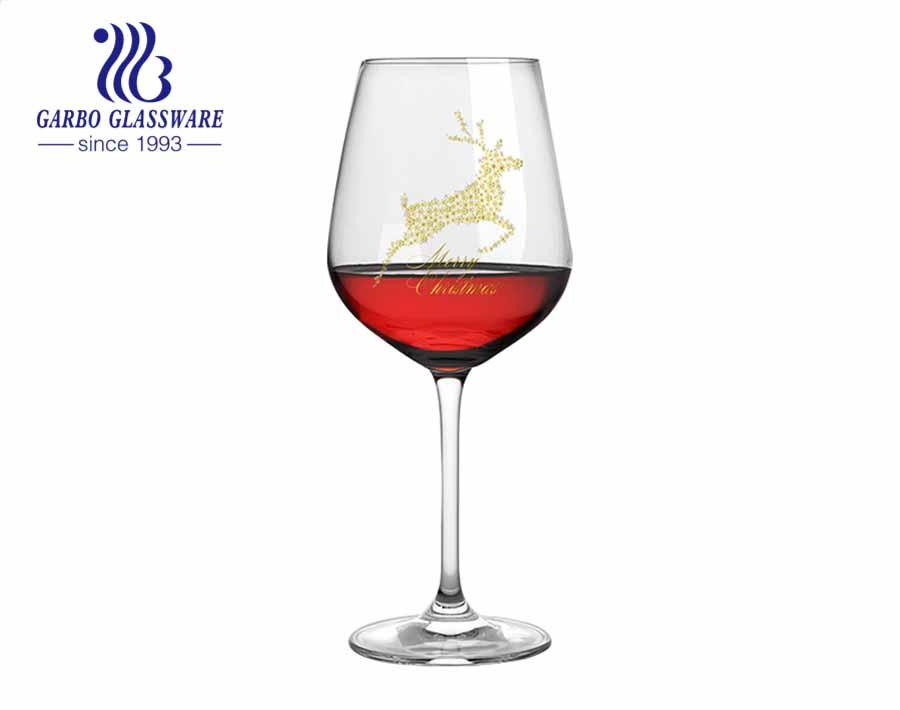 آلة تهب 490 مللي زجاج ستيمواري 17 أوقية كريستال طويل الجذعية كؤوس النبيذ الأبيض لمطعم المنزل