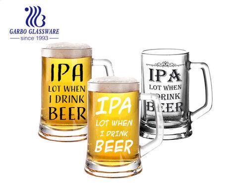 Ly bia IPA lớn 14oz với cốt bia Đức nặng với thiết kế tùy chỉnh