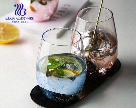 Großformatiger 550ML 20OZ Glasbecher mit nicht verblassenden Ätzfarben