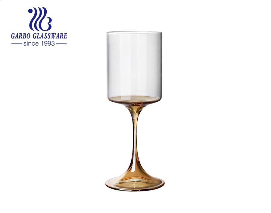 Champagne Flutes 390ml borosilicate goblet Champagne Glasses Wine Glass for Celebration Anniversary Festival