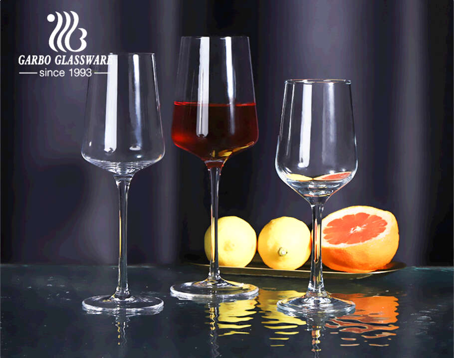 Gift Box Pack 370ml Wine Glass with Classic European Style