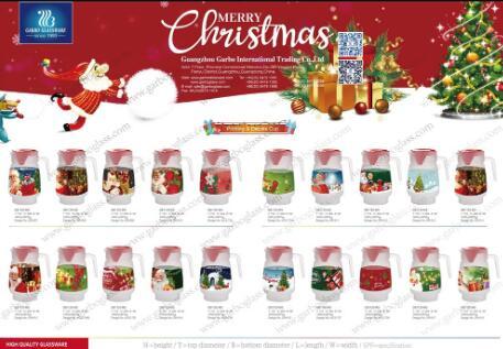 ガルボウィークリープロモーション:クリスマスグラスアイテム