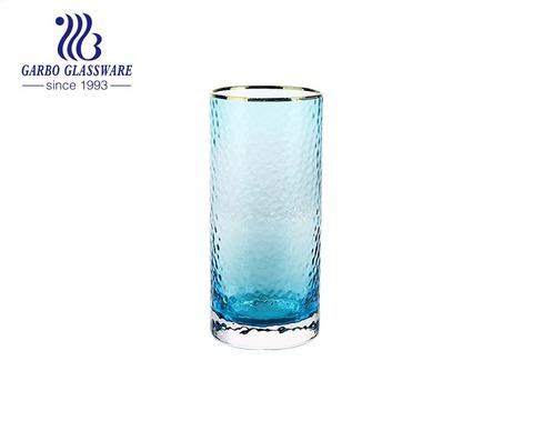 Bộ đồ ăn uống nước bộ đồ ăn bằng thủy tinh màu đặc 320ml