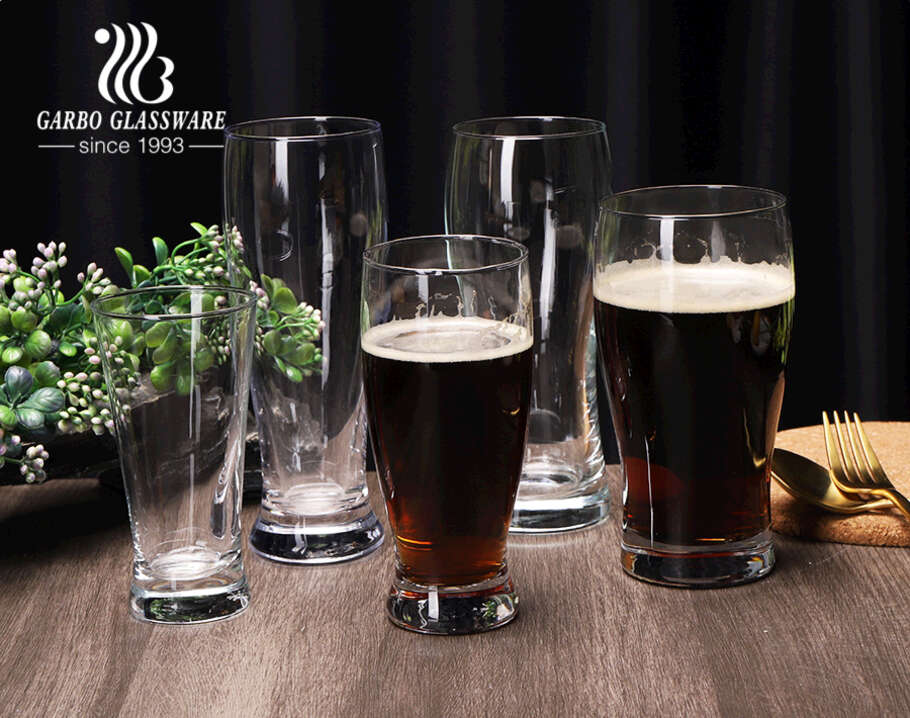 Pilsner beer glass cup IPA HB Stout Wheat Draft Ale beer glass tumblers