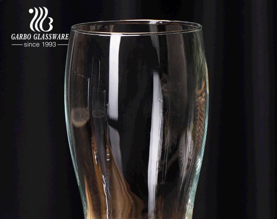 كأس البيرة الزجاج Pilsner IPA HB Stout قمح مشروع البيرة الزجاج البهلوانات